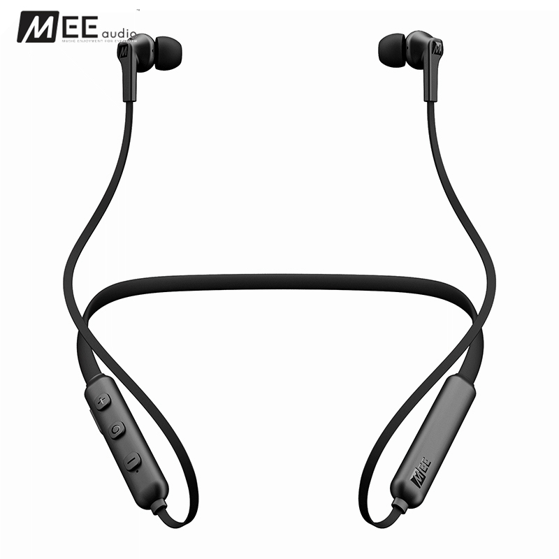 MEE Audio N1 Wireless Sports Handfree Earphones Bluetooth 4.0 In-Ear Magnet Headphone With Mic Bass Stereo Headset For Iphone 24 hours ship mee audio matrix3 af68 stereo wireless bluetooth headphone with mic noise cancelling over ear headset for iphone 8