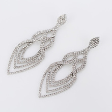 YFJEWE Fashion Wedding Accessories Jewelry Women Earrings Bijoux Genuine SWA Elements Austrian Crystal Long Earring #E053