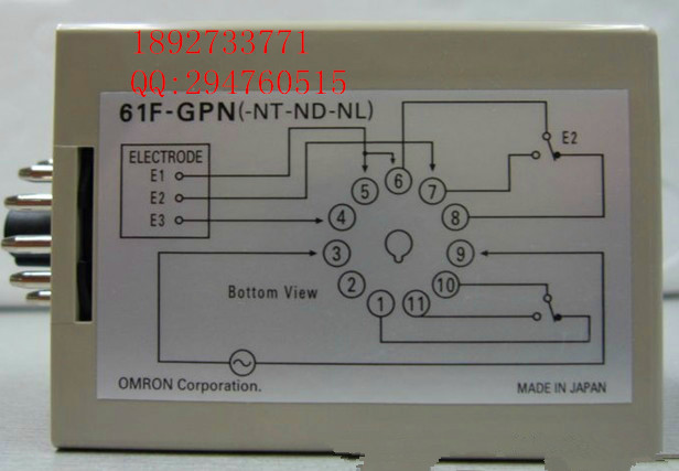 [ZOB] New original omron Omron level switch 61F-GPN-BT DC24V [zob] 100 new original authentic omron omron level switch 61f gp n ac220v 2pcs lot