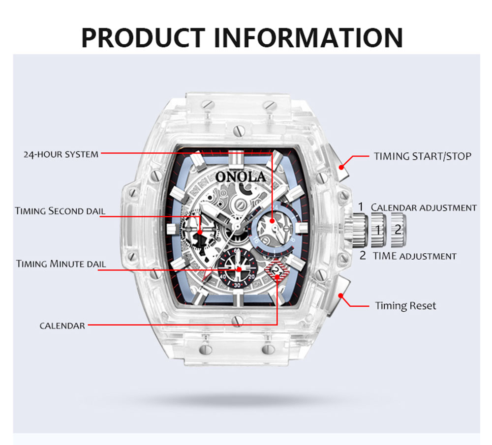 Transparent Dial Watches6