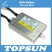 Best Price Super bright 2pcs/lot Best quality 50W CAN-BUS HID xenon X5 DLT ballast error canceller Slim Ballast