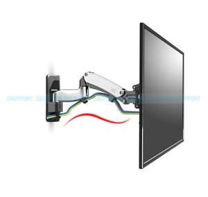 Image 3 - NB F500 Gas Spring 50 60 inch LED TV Wall Mount Monitor Holder Ergonomical Mount Loading 14 23kgs Max.VESA 400*400mm