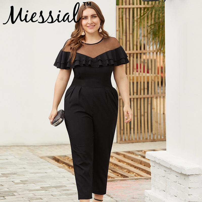 ca0d02b315 Worldwide delivery plus size jumpsuits elegant in NaBaRa Online