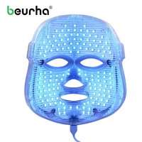 Photodynamic Facial Mask LED Face Mask 7 Color Rejuvenating Beauty Device Phototherapy Wrinkle Removal Anti Aging