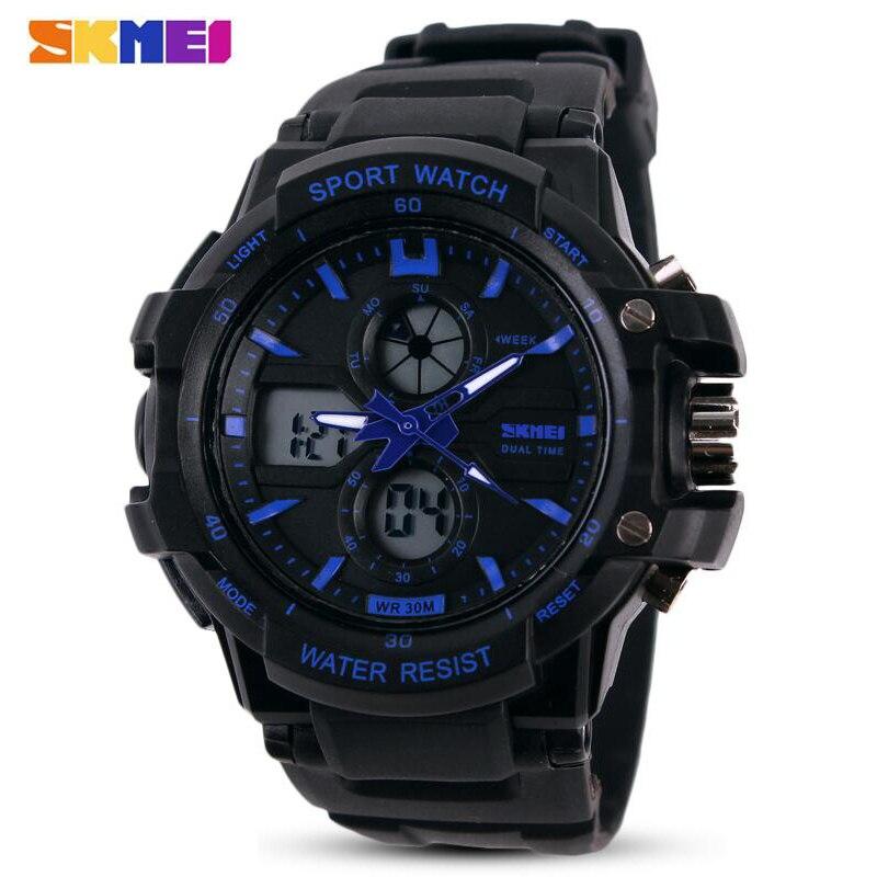 SKMEI Brand New Children Watch Outdoor Sports Kids Boy Girls LED Digital Alarm Waterproof Wristwatch Children's Watches
