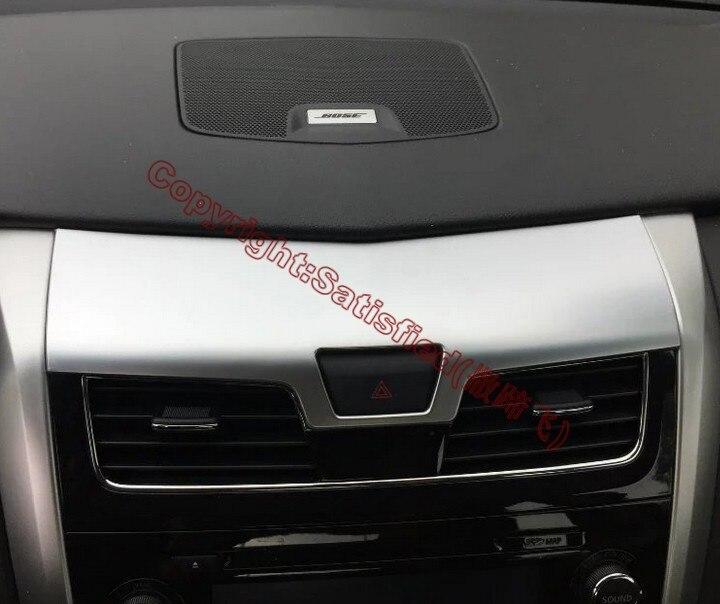 Chrome HeadLight Switch Control Trim Cover For Nissan Altima 2016 2017