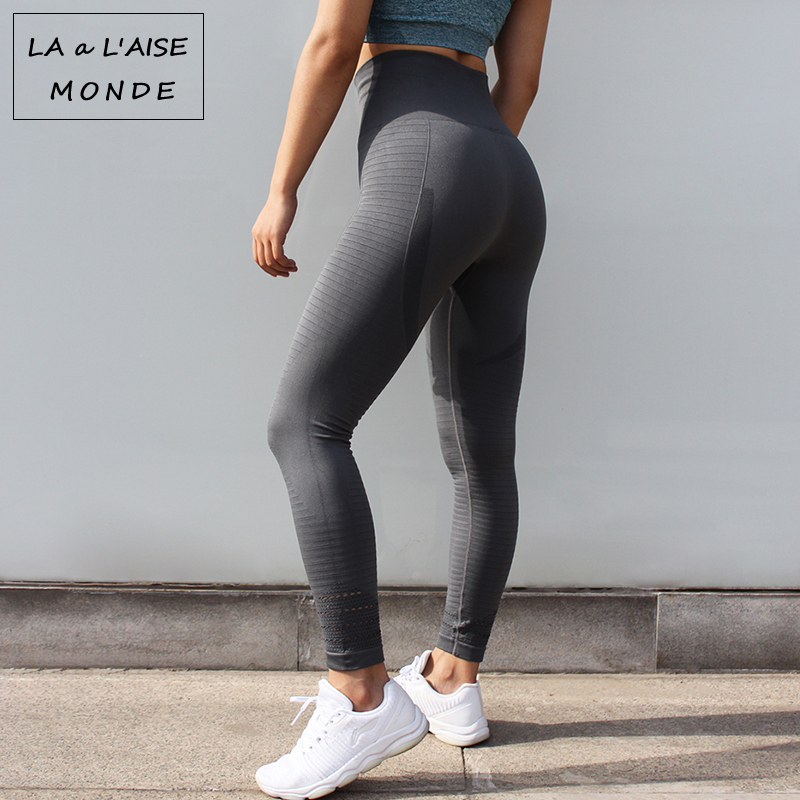 175e8a8d880d5 Leggins Sport Women Fitness High Waist Yoga Pants Gym Seamless Leggings  Sports Wear for Running Tights Pants Sportswear-in Yoga Pants from Sports  ...