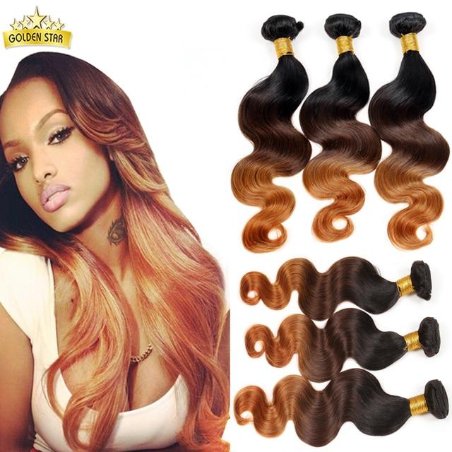 8a Mink Brazilian Hair Weave Bundles Ombre Brazilian Virgin Hair Body Wave 3pcs Brazilian Body Wave Xuchang Longqi Beauty Hair