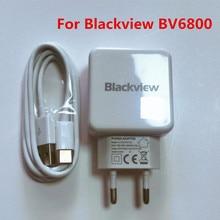 Neue Original Für Blackview BV6800 PRO USB Adapter Reise Ladegerät EU Stecker Schalt Netzteil Adapter Für Blackview BV9600