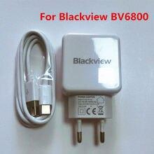 Novo Original Para Blackview BV6800 PRO Adaptador USB Carregador De Viagem DA UE Plugue Adaptador de Alimentação de Comutação Para BV9600 Blackview
