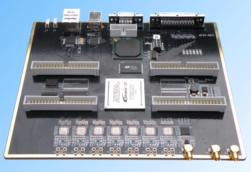 US $1999 99 |DSP FPGA development board AD/DA eight channel disk storage  DSP6713+EP2S60F1020I4-in GPS Accessories from Automobiles & Motorcycles on