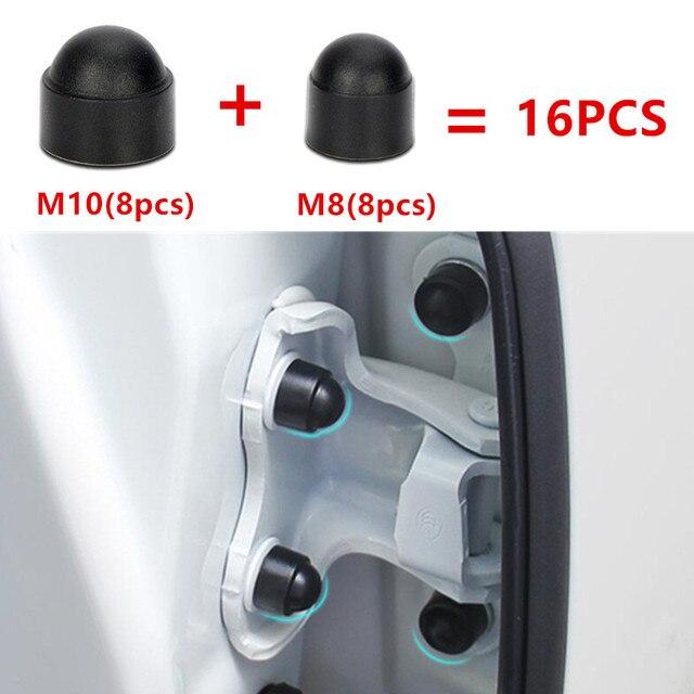 16PCS 자동차 인테리어 액세서리 AUniversal 자동 나사 보호 캡 Mazda 3 mazda 6 CX 5 CX 5 CX3 323 Axela Atenza