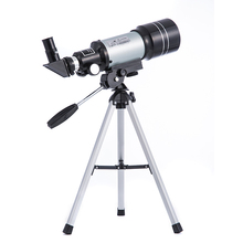 цена на Professional Monocular 15X-150X 70mm Astronomical Telescope F30070 HD Outdoor Refractive Space Telescopes with Portable Tripod