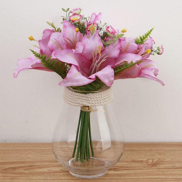 K15146 al por mayor simulacin Peony arreglos florales boda flores