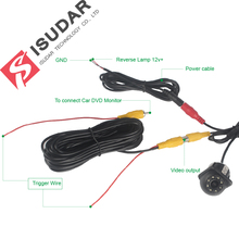 8 LED HD Car Rear View Camera With Night Vision 170 Degree Waterproof