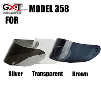 GXT 358 1 Pieces Full Face Shield For Motorcycle Helmet Anti Scratch Replacement Glasses Visor For