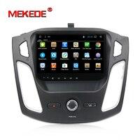 9 дюймов 2din HD full tuoch экран android 7,1 Автомобильный gps dvd плеер для Ford Focus 2011 2015 автомобильный стерео Мультимедийный Плеер головное устройство