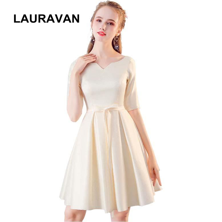 Champagne Colored Formal Girls Bridesmaid Dress For Girl Winter
