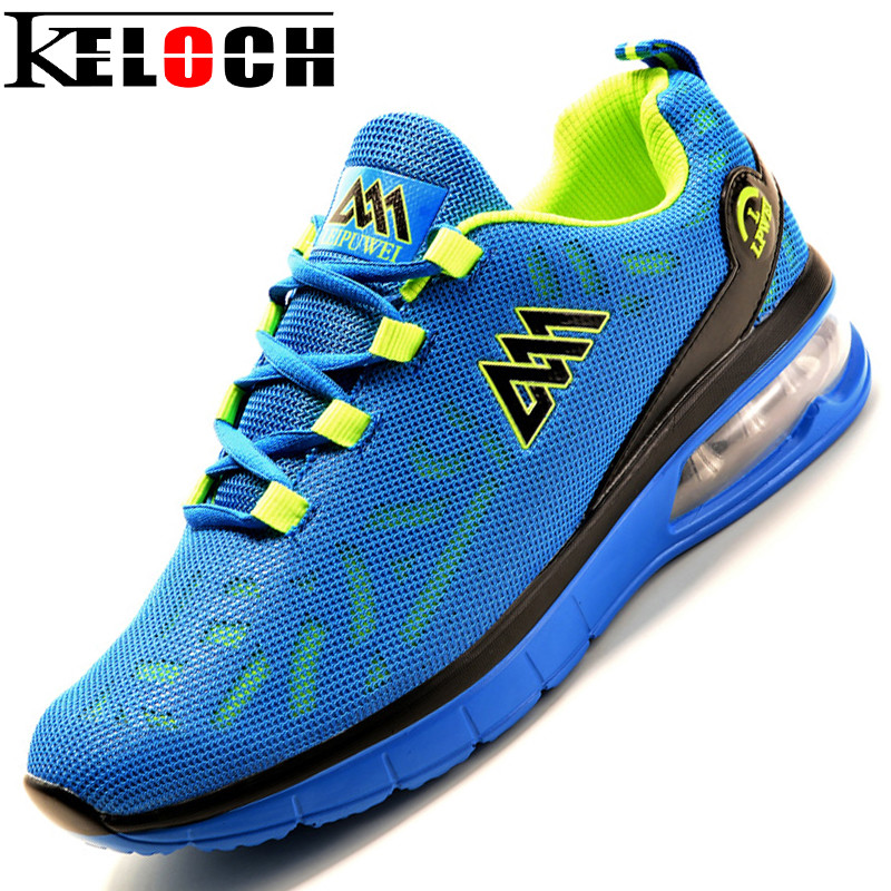 Keloch 2017 New Arrive Men Mesh Running Shoes Male Breathable Outdoor Sports Shoes Men Athletic Training Run Sneakers Men 2017brand sport mesh men running shoes athletic sneakers air breath increased within zapatillas deportivas trainers couple shoes