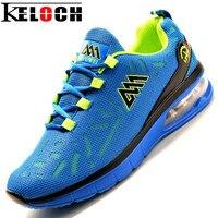 Keloch 2017 nuevo llegan los hombres de malla zapatos corrientes al aire libre respirables masculinos zapatos deportivos hombres athletic training run zapatillas de hombres