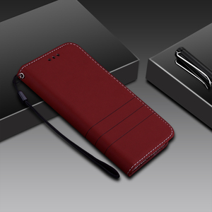 Image 2 - Leather Case For Xiaomi Redmi 3S Flip Wallet Cases for redmi 3 S Pro Stand Phone Bags Cover for Xiaomi Redmi 3 Pro Coque Luxury