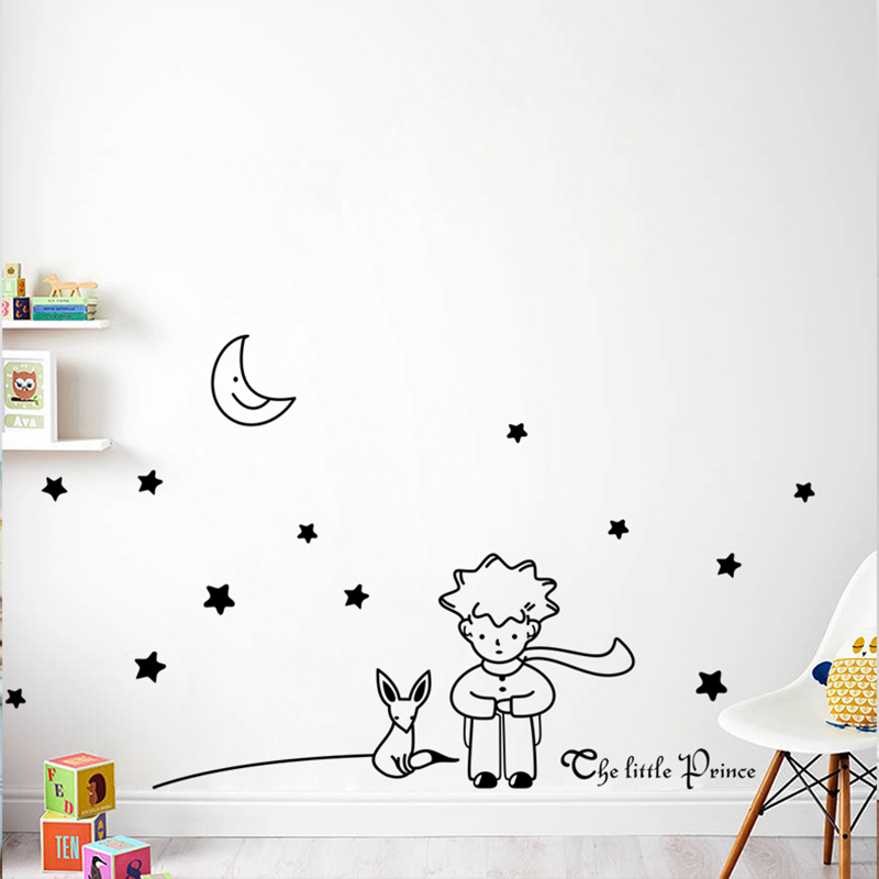 Little, Room, Nursery, Book, Mural, Wall