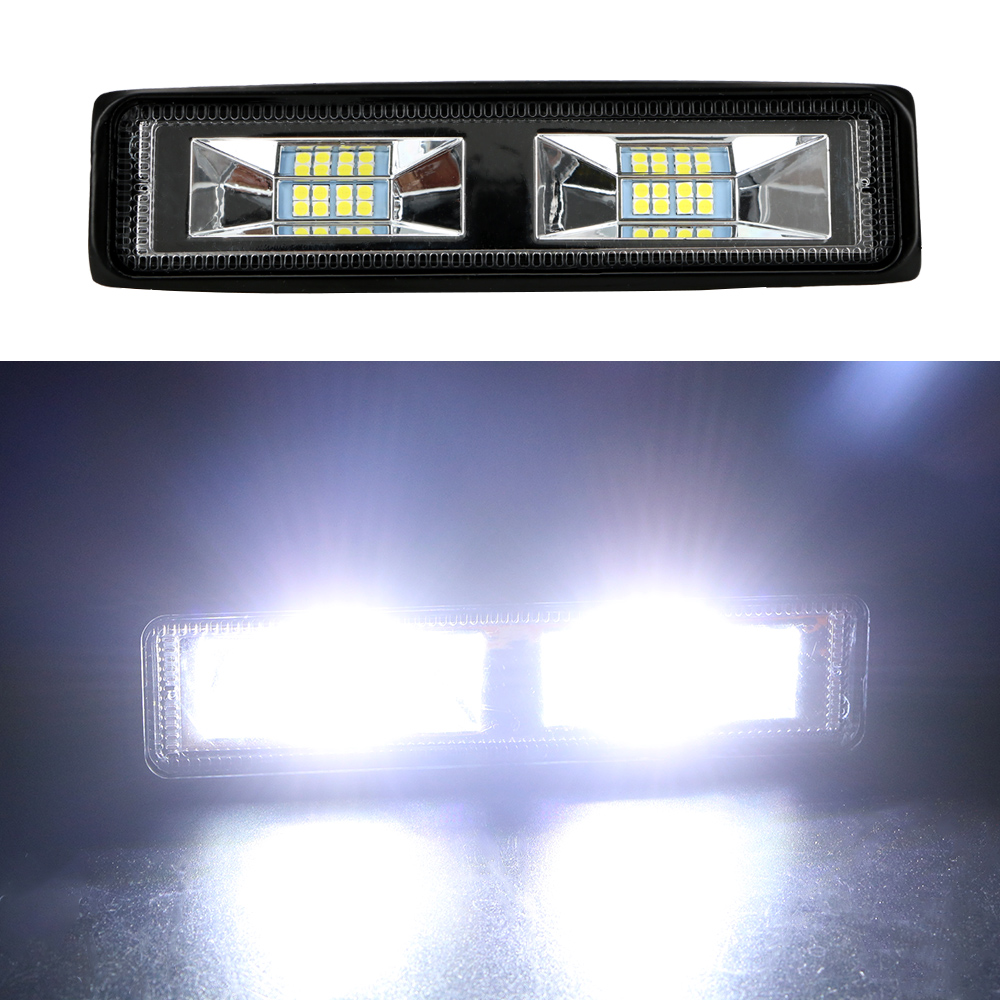 LEEPEE LED Headlights 12-24V For Auto Motorcycle Truck Boat Tractor Trailer Offroad Working Light 36W LED Work Light Spotlight 5