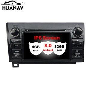HUANVA Android8.0 dvd-плеер радио GPS навигация для Toyota Sequoia/Tundra 2010-2012 Аудио карты 8-ядерный 4 + 32 Гб 4G рекордер лента