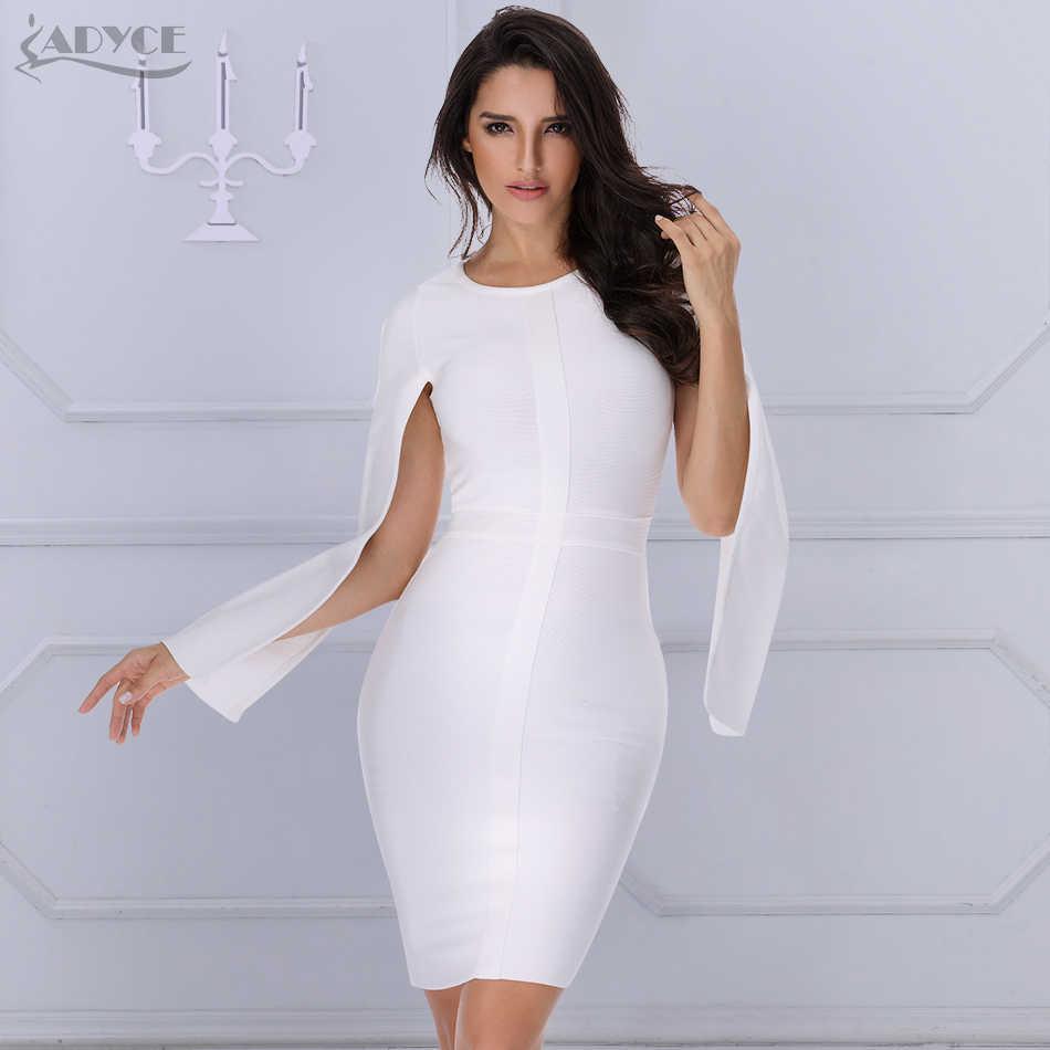 ADYCE 2019 новое летнее женское облегающее платье для подиума сексуальный о-вырез рукав «летучая мышь» Клубное платье Vestidos платья знаменитостей