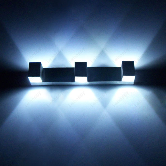 Multihead 2w 3w 4w Led Wall Mount Light Fixture Indoor