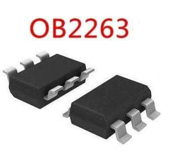 Free Shipping 500pcs/lots OB2263 <font><b>OB2263MP</b></font> OB2263AMP SOT23-6 IC In stock! image