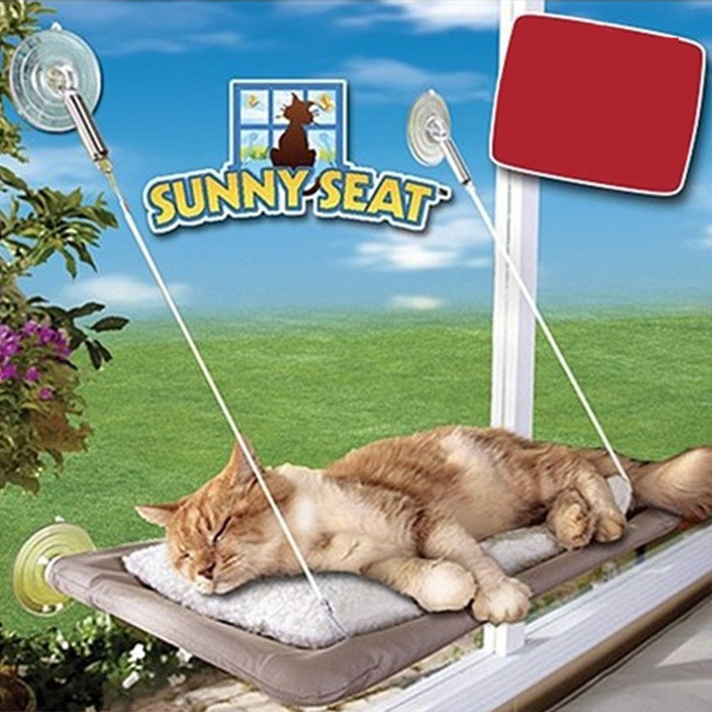 Cat Sucker Type Hammock House Pet Bed Mats Sucker Type Steel Wire Hang Line Fossa Nest Pet Products Accessories Supplies