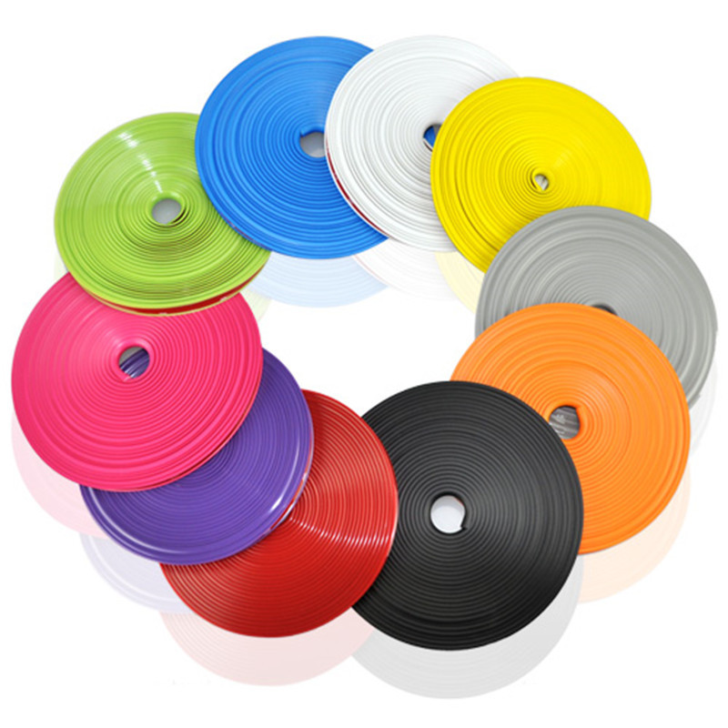 8 Meter/Roll Car Tire Sticker Car Decorative Styling Strip Wheel Rim Tire Protection Care Covers Auto Accessories With 3M Glue
