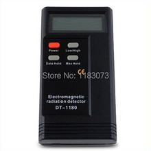 2.3″ LCD Screen High/Low Frequency Electromagnetic Radiation Detector DT-1180 Detecte Life Environmental Home Electronics