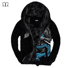 Световой LOL 3D Куртка 2016 Европейский Модные Мужские Старинные Утолщение Осень Зима Дизайнер Известный Бренд Мужской Slim Fit Теплое Пальто