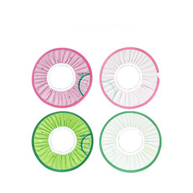 1 Pcs Shampoo Cap Baby Kid Child Adult Shampoo Green /Pink Bath Shower Cap Hat Safe Soft Unisex Wash Hair Protect