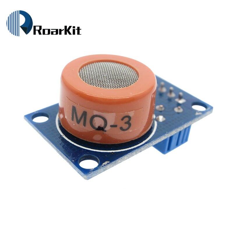 ! MQ-3 módulo sensor de álcool etanol álcool alarme de detecção de gás sensível para arduino