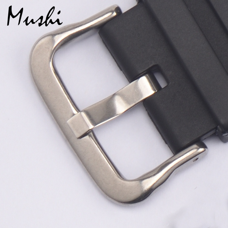 19 21mm Watch Band Buckle Silver High Quality Stainless Steel Watchbands Strap Clasp for Casio DW6900 Accessories high quality lowest price wholesale kz 19 pneumatic combination steel metal strapping packing machine for 19mm steel strap tape