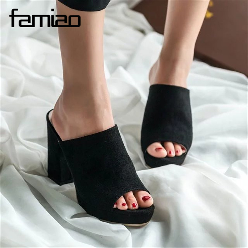 FAMIAO Brand Shoes Woman Summer Gladiator Women Sandals Sexy Peep Toe Ankle Strap High Heel Sandals Gift Socks Sandalias women shoes summer women sandals 2017 peep toe gold silver roman sandals shoes platform brand creepers woman sandalias size 43