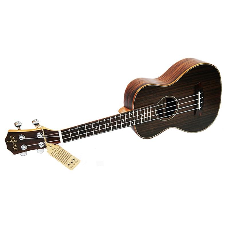 SevenAngel Concert ukulélé acoustique 23 pouces palissandre hawaïen 4 cordes guitare 17 Fret électrique Ukelele avec ramassage EQ - 2