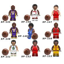brand new f8fb5 87514 Legoings 8 teile los Basketball Sterne James Kobe Wade Jordan Curry  Bausteine Spielzeug