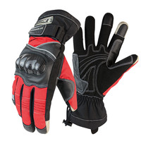 Protective Motorcycle Gloves Winter Warm Waterproof Windproof Sports Racing Accessories Guantes Moto Motorbike Racing Glove Bike