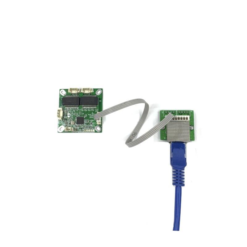 Мини-коммутатор, OEM-модуль, сетевые коммутаторы мини-размера с 3 портами, печатная плата, мини-модуль коммутатора ethernet 100 Мбит/с, OEM/ODM