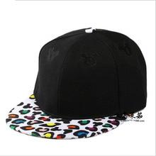 Summer Style Snapback Gorras font b Hat b font Flat Brimmed Baseball Cap 3D Print Cute
