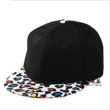 Summer Style Snapback Gorras Hat Flat Brimmed Baseball Cap 3D Print Cute Cartoon Adjustable Hip hop Trucker Bone Caps casquette