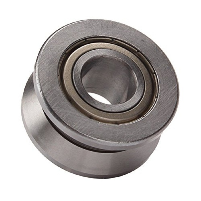 V Groove Sealed Ball 20*57*22mm Track Roller Guide Vgroove Bearing 1 piece bu3328 6 6 33 27 5 29 5 mm z25 guide rail u groove plastic roller embedded dual bearing