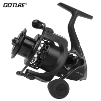 Goture 9BB 5 2 1 Spinning Reel Carp Fishing Wheel With Graphite Body And Carbon Black