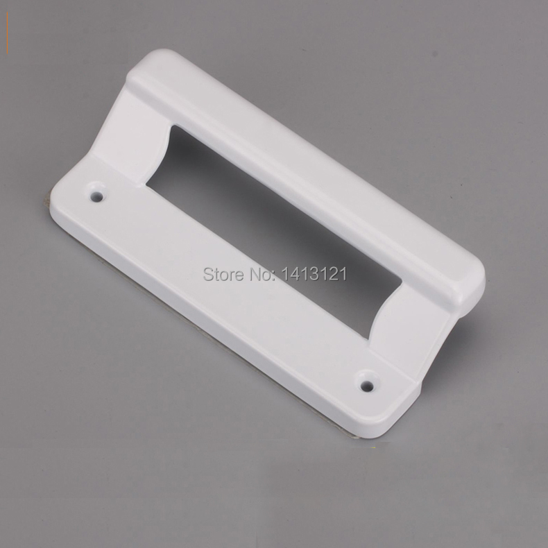 Aluminum Window Plastic : Free shipping white zinc alloy knob plastic steel sliding
