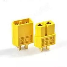Wholesale 1 Pair Of XT60 XT-60 Male Female Bullet Connectors Plugs For RC Lipo Battery