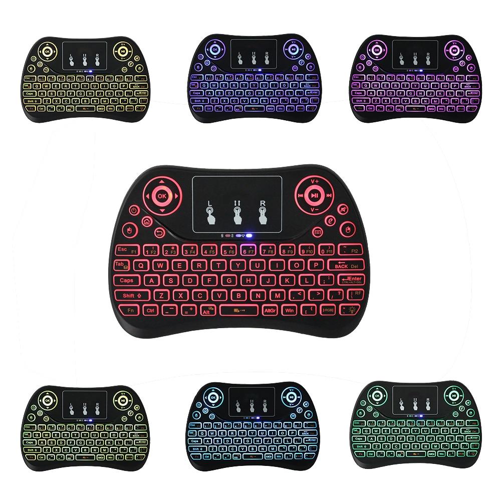 2,4 Ghz Mini Drahtlose Tastatur Mit Touchpad T2 Air Maus Englisch Version Handheld Für Android Tv Box Pc Xgimi H1s Projektor